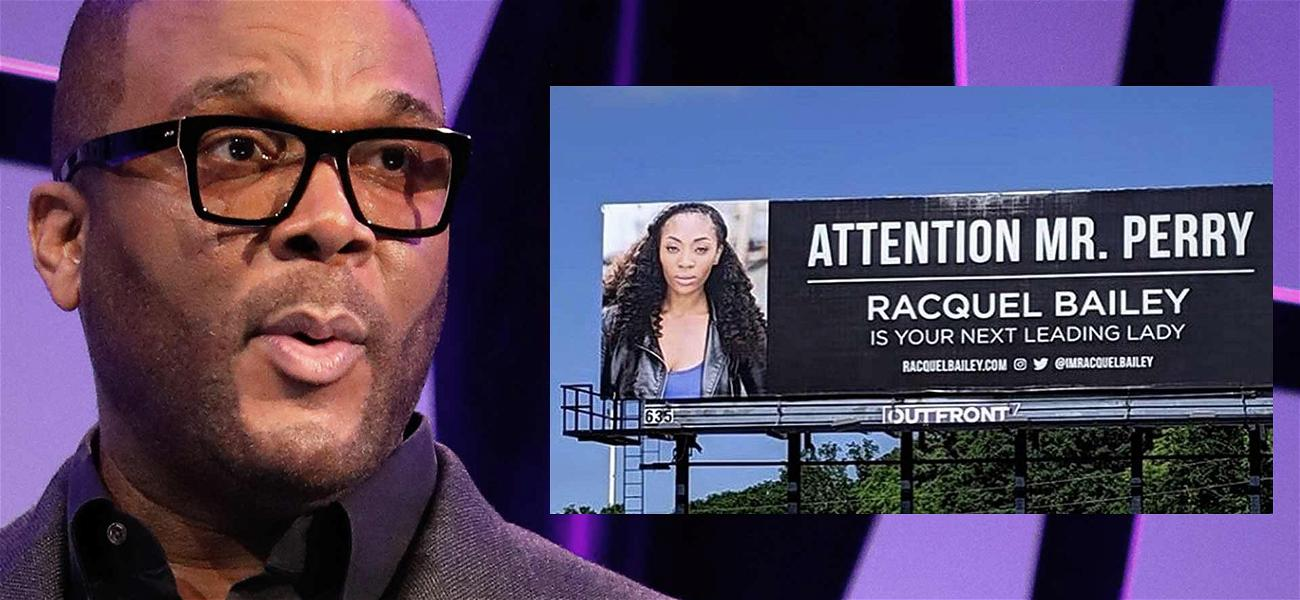 Tyler Perry Not Impressed with Actress Who Paid $2,000 for Billboards Asking for a Job