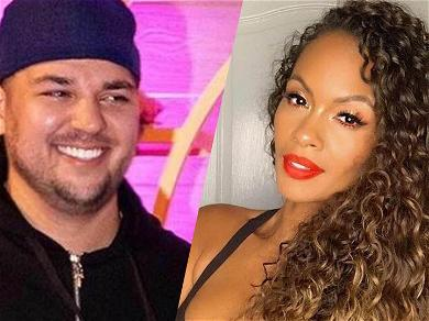 'Basketball Wives' Star Evelyn Lozada Gets Flirty With Rob Kardashian On IG After His Weight Loss
