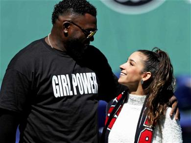 Aly Raisman Gets a 'Girl Power' Welcome From David Ortiz at Fenway Park