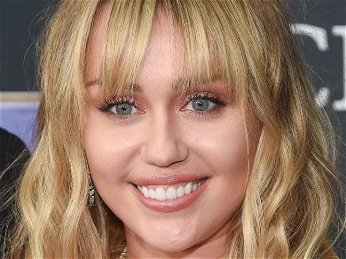 Miley Cyrus Revives Iced Coffee Trend In Red Underwear