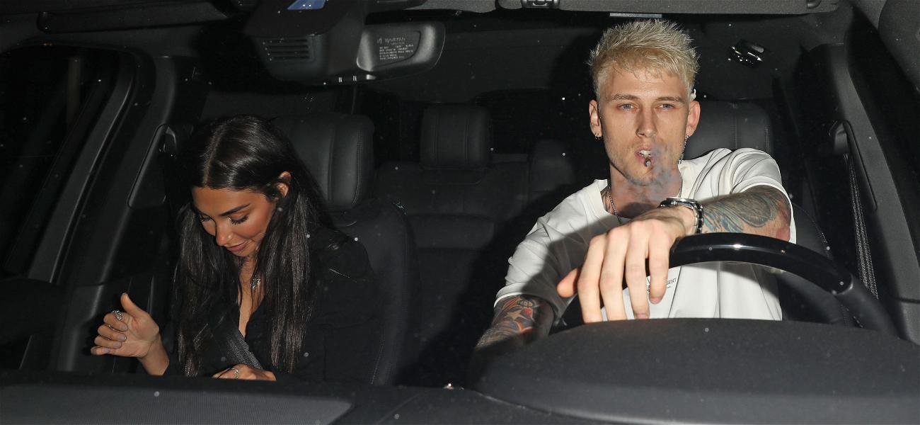 Machine Gun Kelly and Chantel Jeffries Hit the Club On Date Night