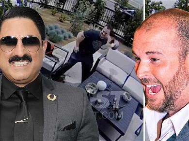 'Shahs of Sunset' Stars at War After MJ's Husband Trashes Reza's Backyard