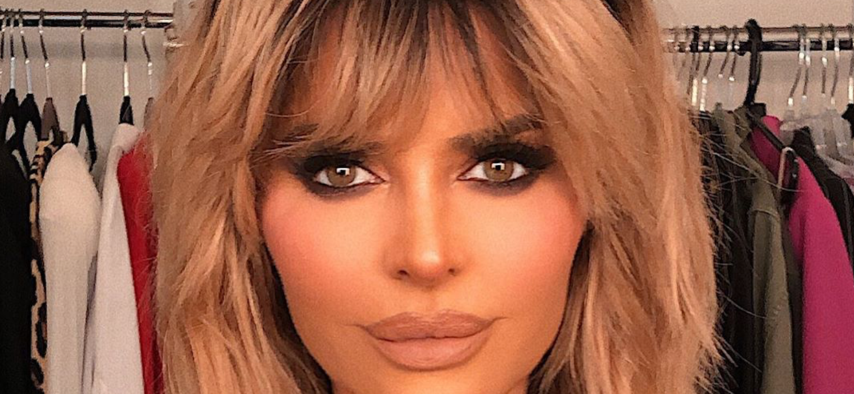'RHOBH' Star Lisa Rinna Finds Her Funk With Spandex Wiggle