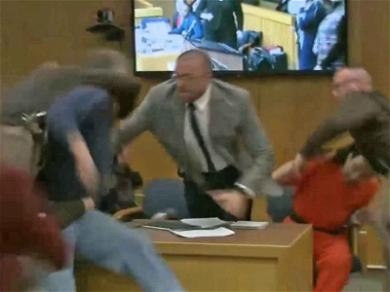 Larry Nassar Attacked by Gymnast's Father in Court