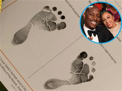 Tyrese Gibson & Wife Welcome Their First Daughter Together After 30 Hours of Labor