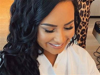 Demi Lovato Challenged As 'Booty Chin' Photo Goes Viral