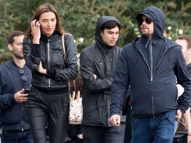 Leo DiCaprio and Tobey Maguire Hang With Hot Models