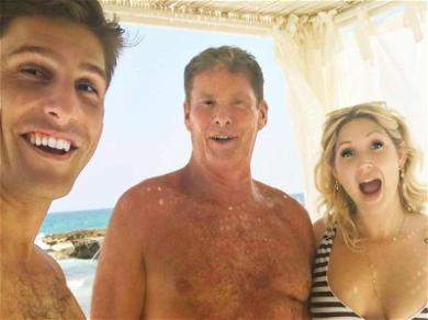 David Hasselhoff's Daughters Arrive in Italy Ahead of Upcoming Wedding