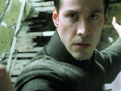 Check Out These Photos of Keanu Reeves Filming The Matrix 4