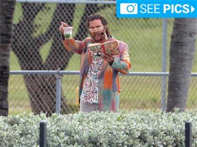 Matthew McConaughey On Set Playing Matthew McConaughey