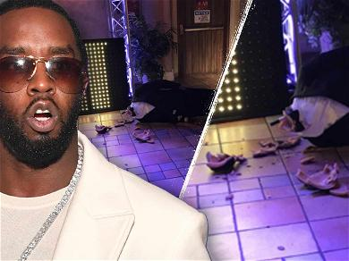 Diddy's Decapitated Wax Statue Seen With Crushed Head