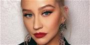 Christina Aguilera Brings The Heat To Miami Studio Session
