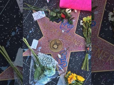 Hugh Hefner's Walk of Fame Star Vandalized