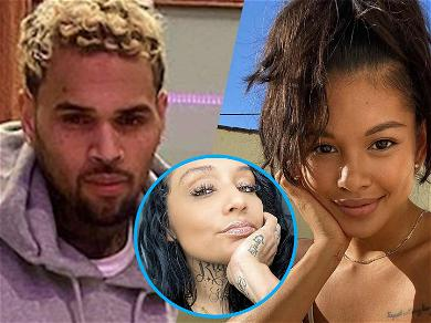 Chris Brown Leaves Ammika Harris Steamy Sideboob Comment After Nia Guzman Reunion