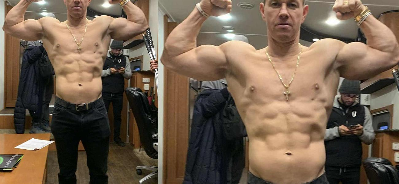 Mark Wahlberg's Thirst Trap Defies Nature With Shredded Abs And Huge Biceps