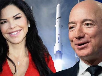 Jeff Bezos Hooked Up With Lauren Sanchez While She Covered His Giant Rocket