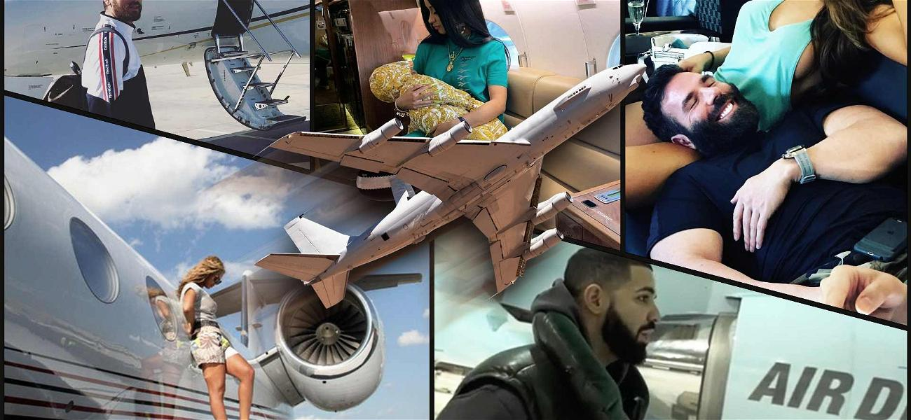 Is Drake's Custom Jumbo Jet the Coolest Celebrity Airplane Out There?