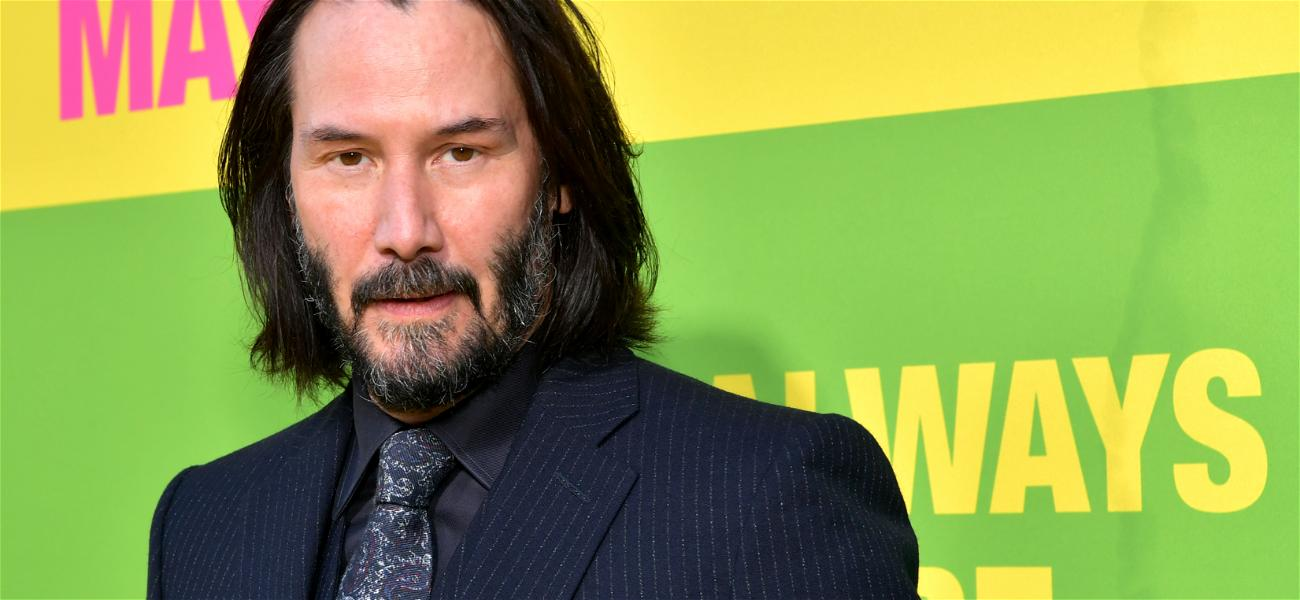 Keanu Reeves Surprises Super Fans After Noticing 'You're Breathtaking' Sign in Their Yard