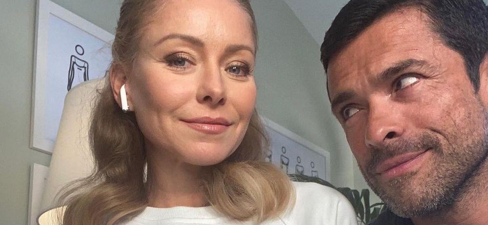 Kelly Ripa's 'Fancy' Skirt Eyes Husband Back In Her Bed