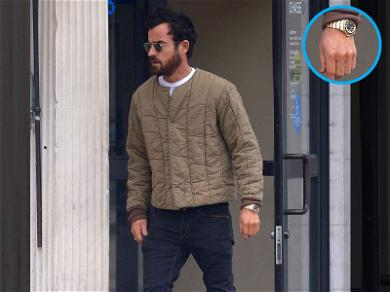 Justin Theroux is Ringless in the City