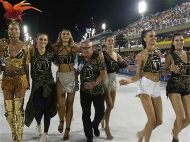 Victoria's Secret Models Ready to Party at Rio De Janeiro Carnival