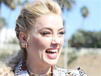 Amber Heard Calls Herself 'Vaccine Queen' At COVID Clinic