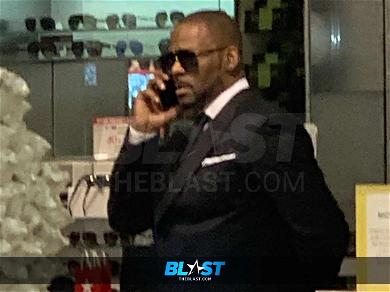 R. Kelly Goes Shopping at the Mall After Latest Court Appearance