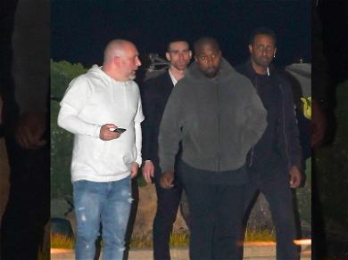 Kanye West Beefs Up Security After Violent Gang Threat
