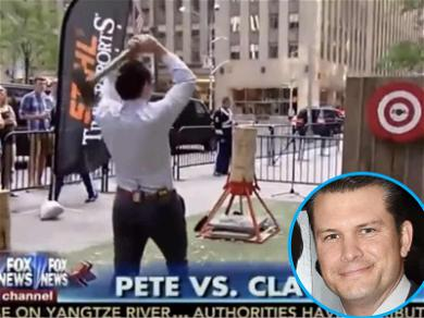 'Fox & Friends' Host Sued Over Axe-Throwing Stunt Gone Wrong
