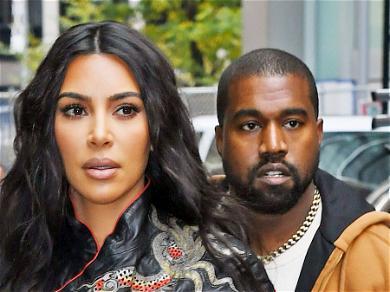 Kim Kardashian And Kanye West Staying Cordial Amid Divorce Talk