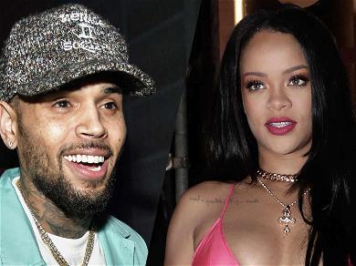 Chris Brown Trolls Himself Over Rihanna 'Lamp' Comment