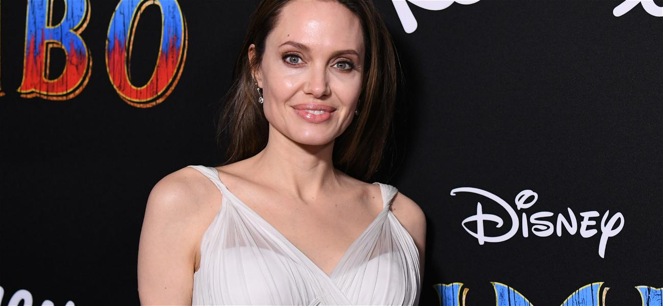 Angelina Jolie's Too Busy To Care For Pitt & Aniston Reunion at SAG Awards