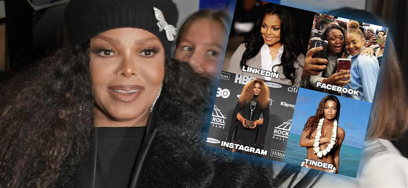 Janet Jackson Wins The Dolly Parton Challenge With Fantastic Tinder Pic