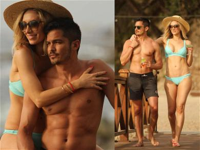 Nicholas Gonzalez's Washboard Abs Head South of the Border