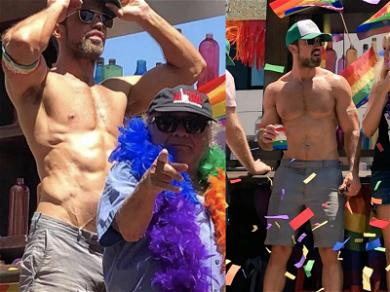 'It's Always Sunny' Star Mac Shows Off Cultivated Mass at L.A. Pride