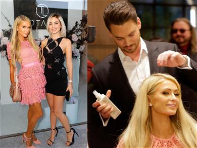 Paris Hilton and Megan Pormer Are Blonde Bombshells at Totalee Hair Soireé
