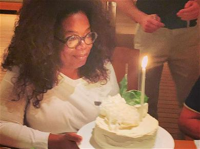 Oprah Celebrates 65th Birthday in St. Barts With BFF Gayle King