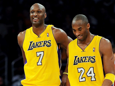 Kobe Bryant Offered To Help Lamar Odom With Gambling Problems Before His Death