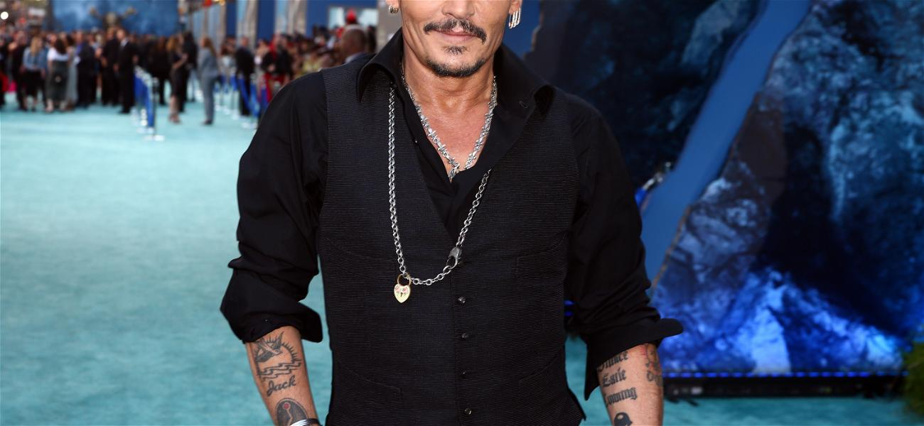 Johnny Depp Shows Off Millions With New Instagram Account