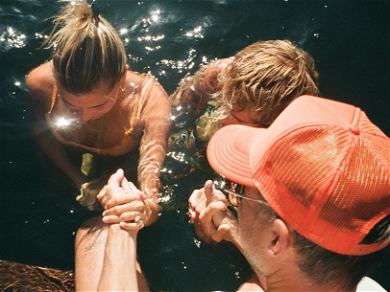 Justin Bieber Shares Intimate Moments Of Baptism With Wife Hailey Baldwin — See The Photos!!