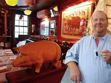 Mario Batali Was Allegedly Called the 'Red Menace' at NYC Eatery