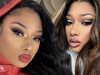 Megan Thee Stallion Flaunts Her Perfect Curves In See-Through Mesh