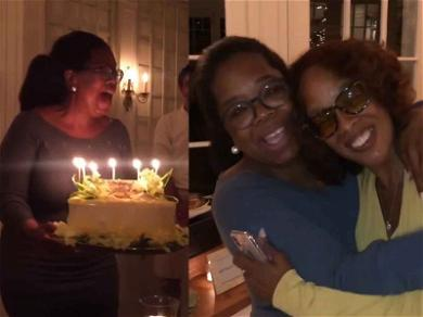 Gayle King Gets The Big 'O' Treatment for Her Birthday