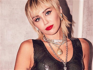 Miley Cyrus Goes Braless, Exposes Bare Chest & G-String In NSFW Shots