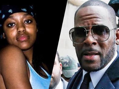 R. Kelly's Ex-Girlfriend Azriel Clary Cuts Up Singer's $4,000 Versace Jacket