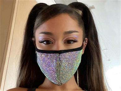 Ariana Grande Flaunts Unbelievably Trim Tummy And Fit Booty With Masked Up Selfies