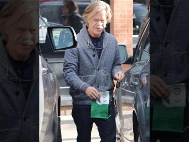 William H. Macy Picks Up Some Holiday Cheer from Aspen Pot Shop