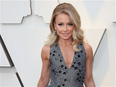 Kelly Ripa 'Clearly Starving Herself' As Vitamin Promo Sparks 'Bobble Head' Comments