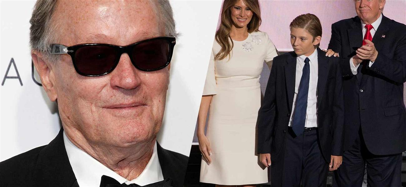 Peter Fonda on Secret Service Radar After Suggesting Putting Barron Trump in a 'Cage with Pedophiles'