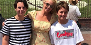 Britney Spears Reunites With Sons For Christmas Amid Conservatorship Battle